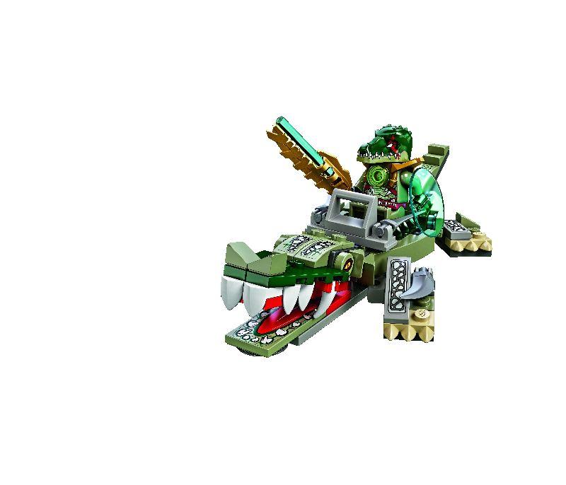Lego Chima Legendara Bestie Crocodil