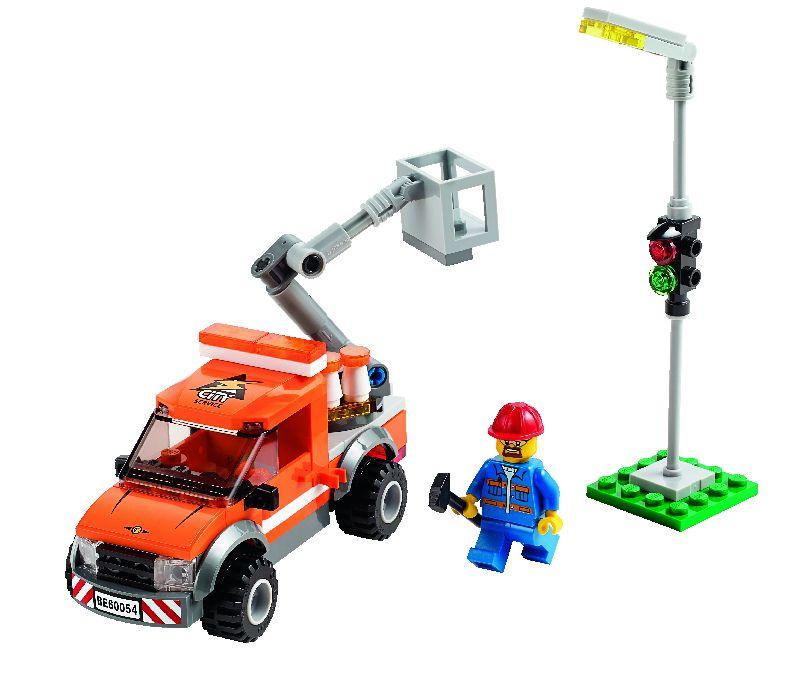 Lego City Camioneta pentru reparatii