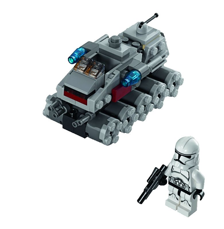 Lego StarWars Clone Turbo Tank