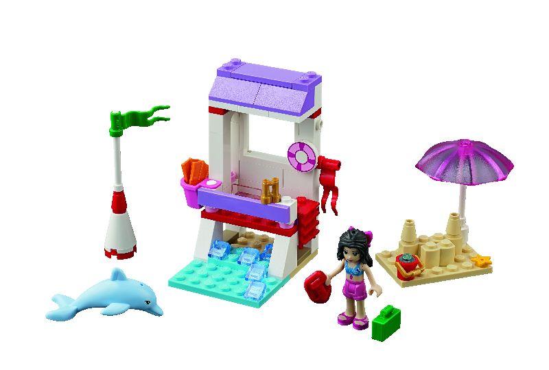 Lego Friends Postul de salvamar al Emmei