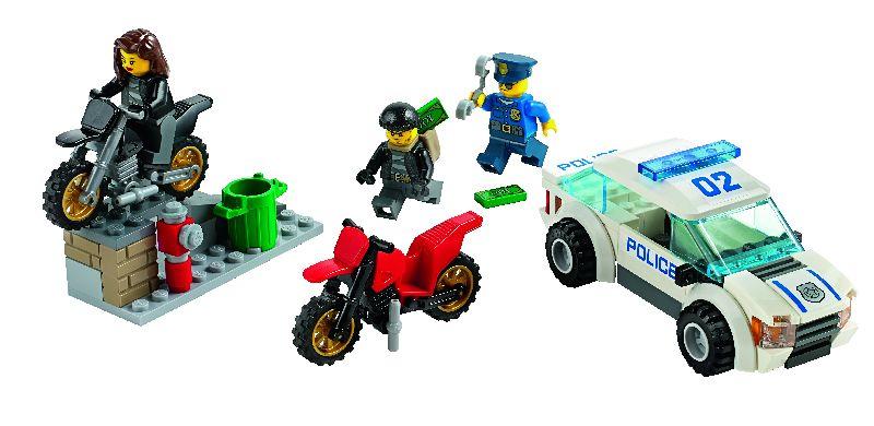Lego City Urmarire de mare viteza cu politia