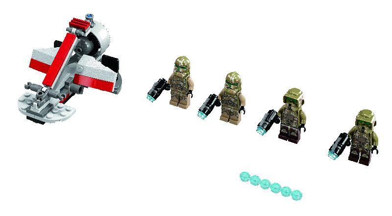 Lego StarWars Kashyyyk Troopers