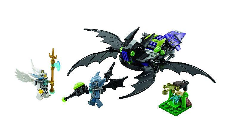 Lego Chima Nava zburatoare a lui Braptor