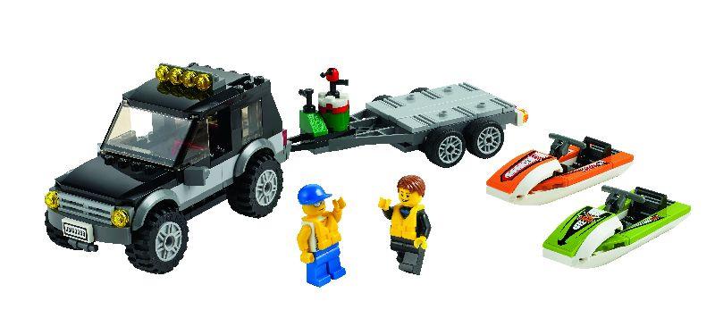 Lego City SUV cu ambarcatiune