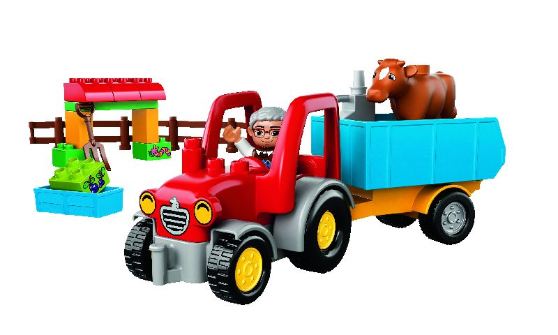 Lego Duplo  Tractor de ferma