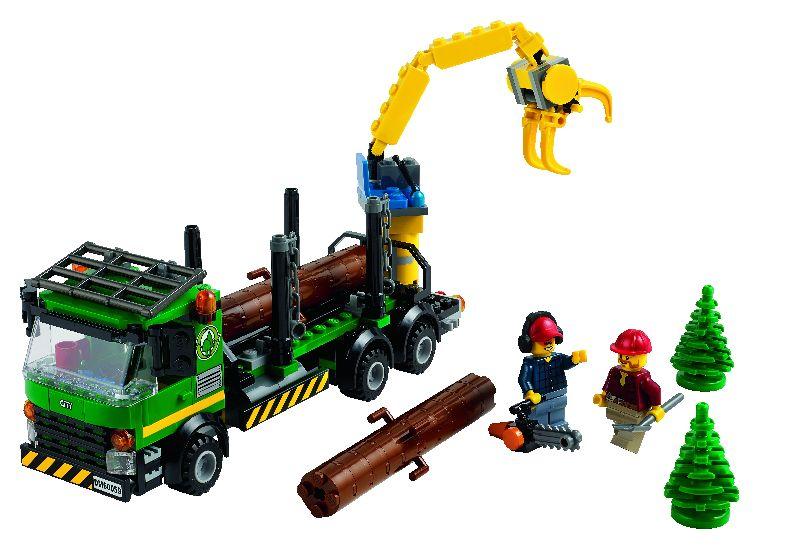 Lego City Camion de transportat busteni
