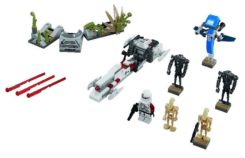 Lego StarWars Lupta de pe Saleucami