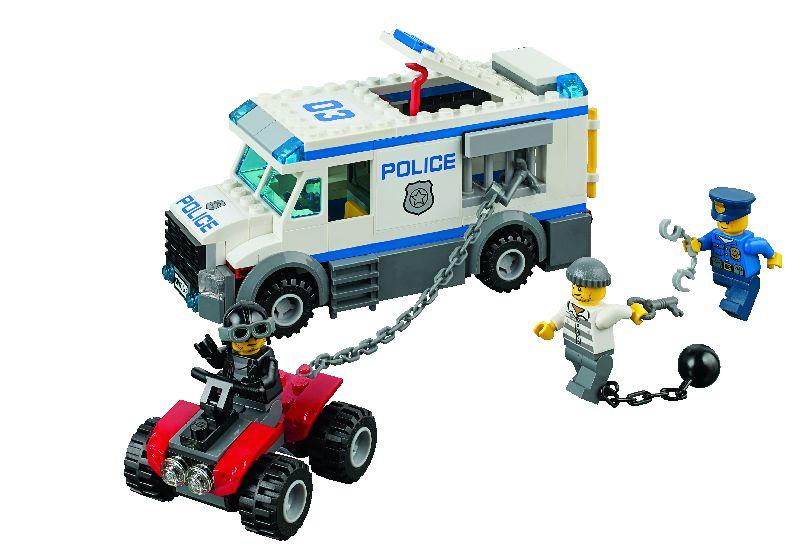 Lego City Ma?ina pentru transportat prizonieri