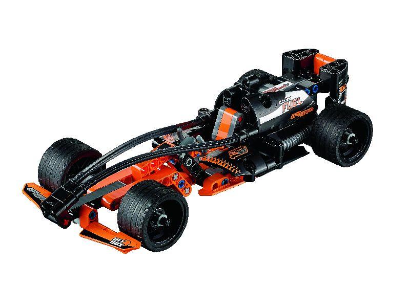 Lego Tech Masina neagra campioana de curse