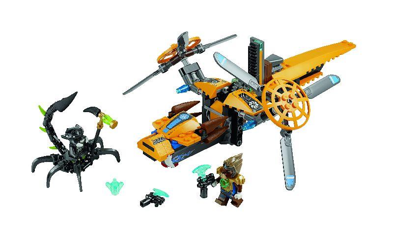 Lego Chima Nava cu doua elice a lui Lavertus
