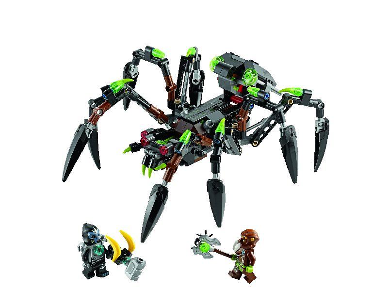 Lego Chima Masinaria de urmarire a lui Sparratus