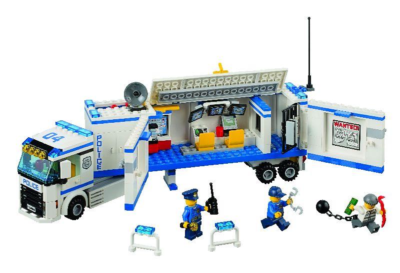 Lego City Sectie mobila de politie