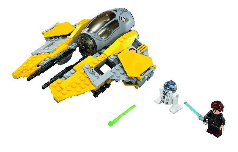 Lego StarWars Jedi Interceptor