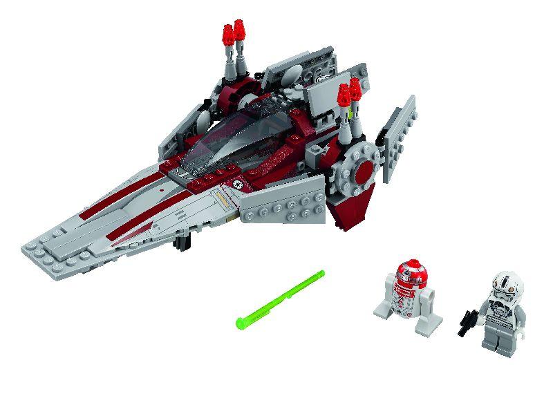 Lego StarWars V-wing Starfighter