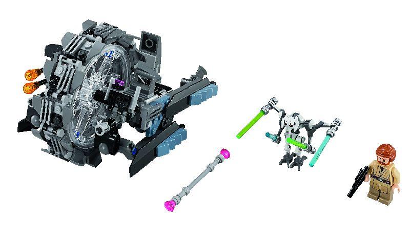 Lego StarWars General Grievous' Wheel Bike
