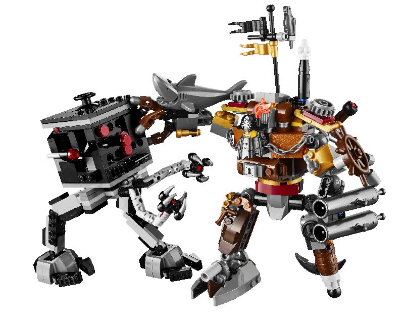 Lego Movie Duelul lui Metal Beard