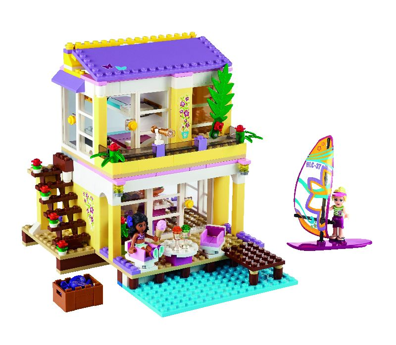 Lego Friends Casa de pe plaja a Stephaniei