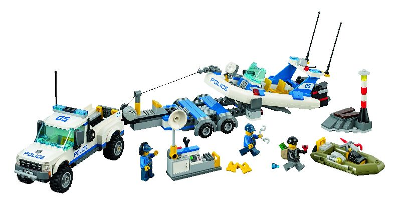 Lego City Patrula de politie