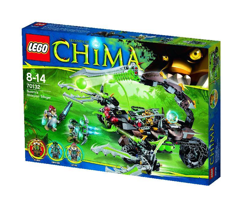 Lego Chima Masinaria-scorpion a lui Scorm