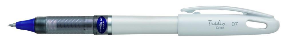 Roller gel Tradio,corp alb,0.7mm,albastru