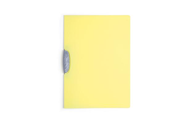 Dosar Swingclip Color,30coli,galben