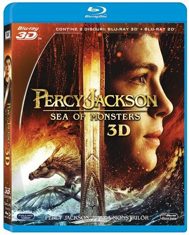 BD: PERCY JACKSON MAREA MONSTRILOR (COMBO 2D+3D)