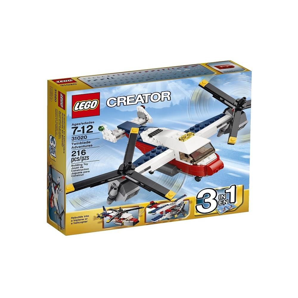 Lego CR Aventuri cu elice dubla