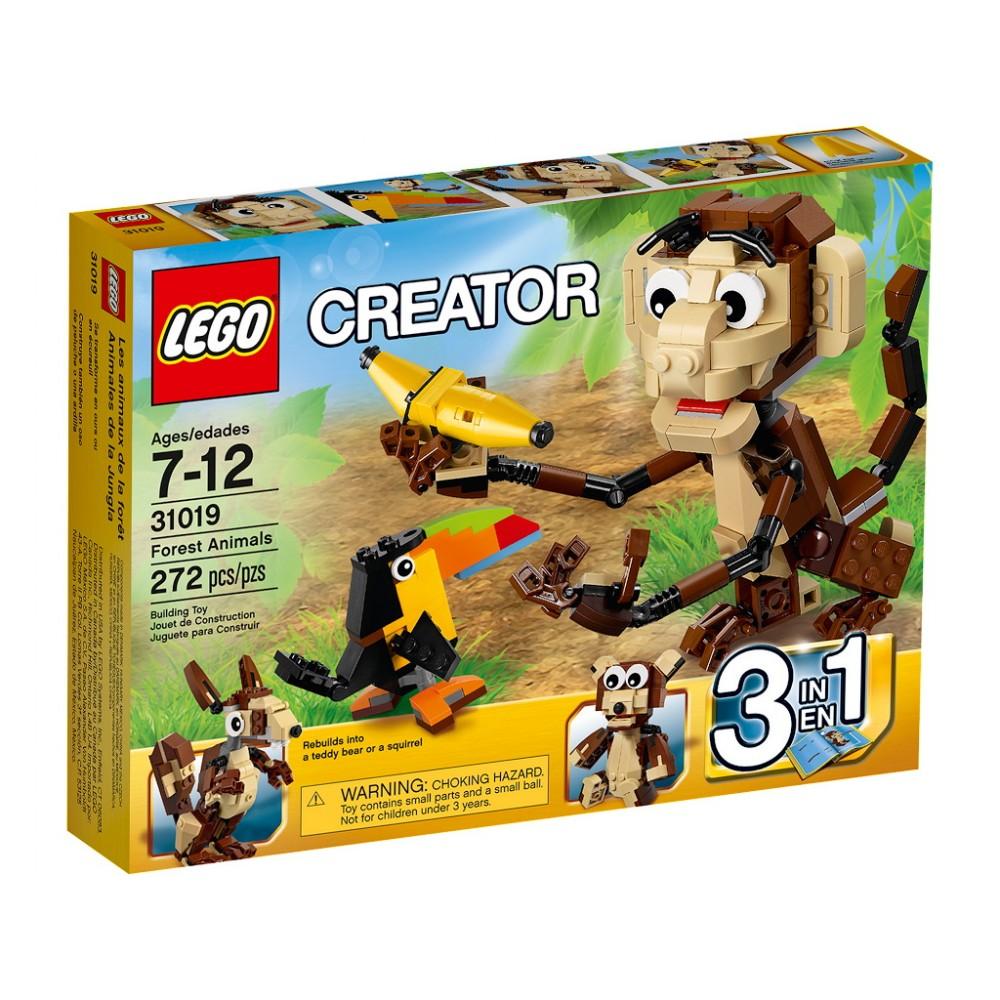 Lego CR Animalele din padurea tropicala