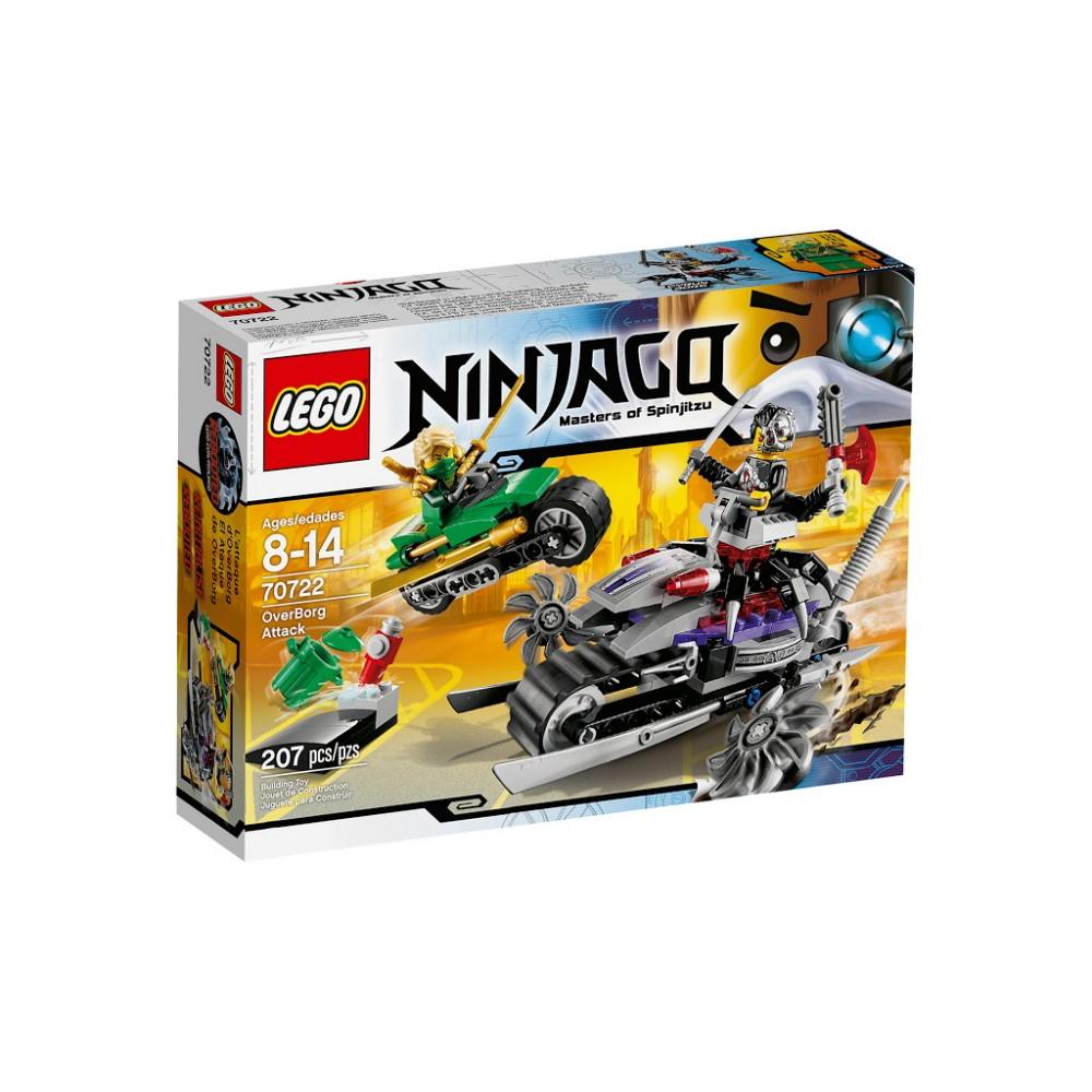 Lego Ninjago Atacul lui OverBorg