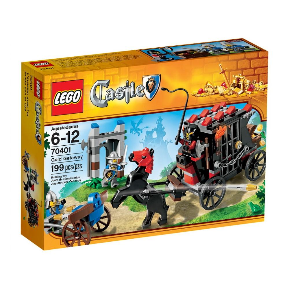 Lego Castle Fuga cu aurul