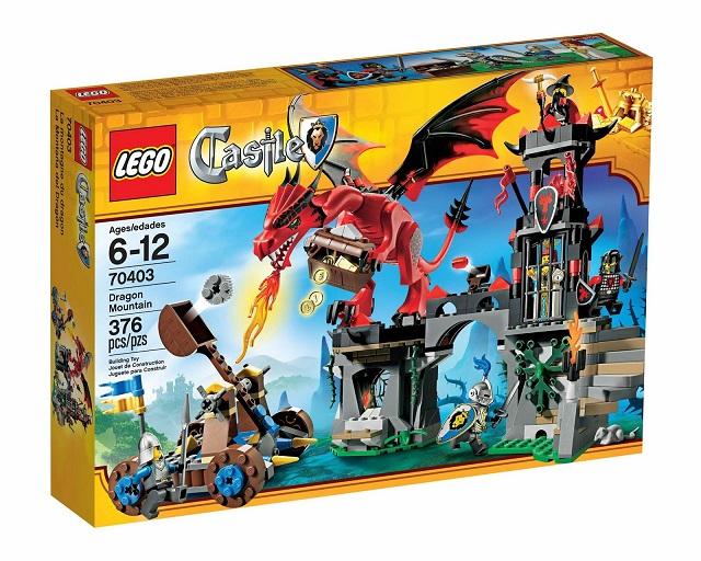 Lego Castle Muntele dragonului