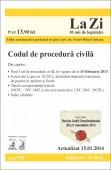 CODUL DE PROCEDURA CIVILA LA ZI COD 530 ACTUALIZARE 15.01.2014
