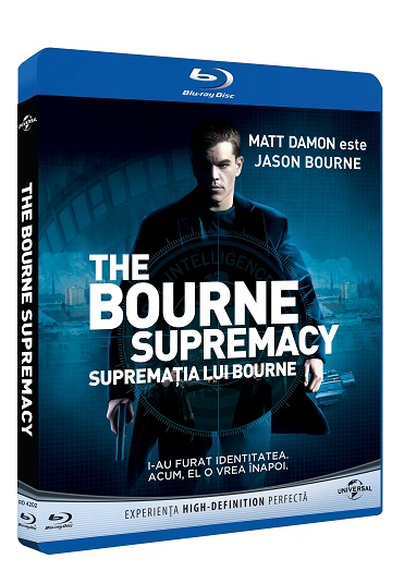 BD: THE BOURNE SUPREMACY  - SUPREMATIA LUI BOURNE