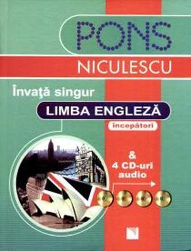 INVATA SINGUR LIMBA ENGLEZA + 4 CD