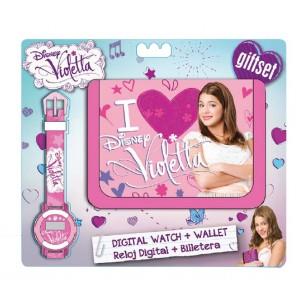 Set cadou ceas mana+portofel,Violetta