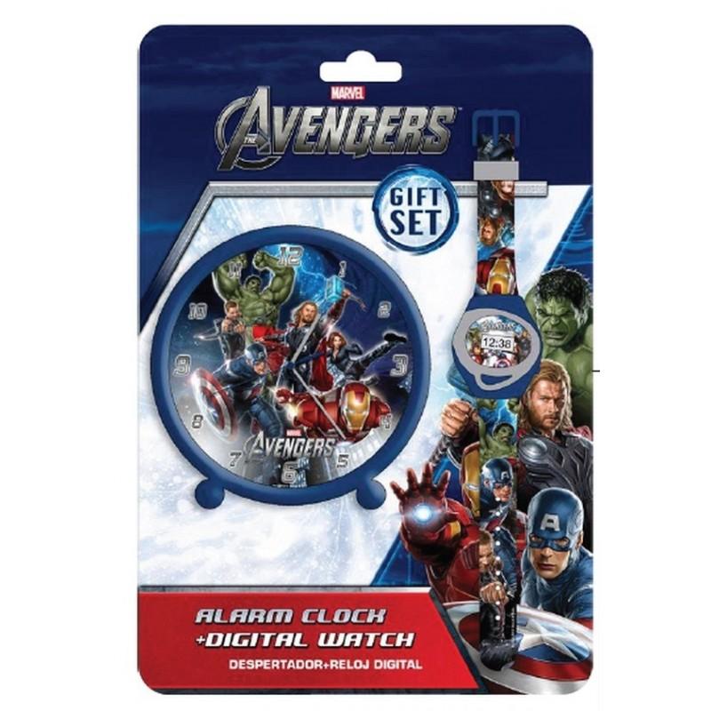 Set cadou ceas mana+ceas masa,Avengers