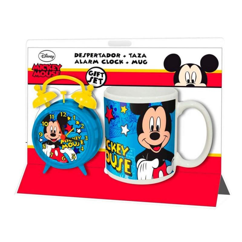 Set ceas masa+cana portelan,Mickey