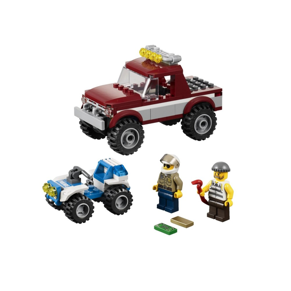 LEGO City Politia in urmarire