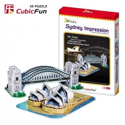 Puzzle 3D Fun, div. modele