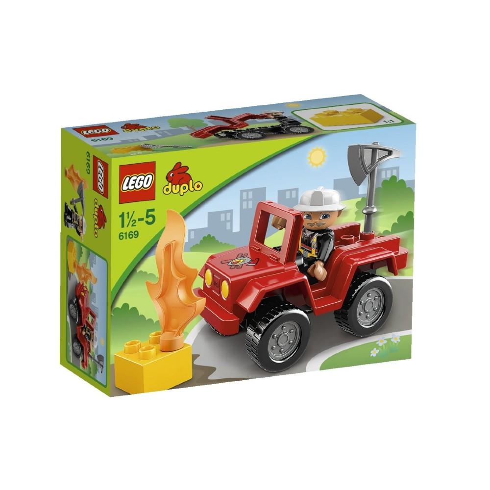 LEGO Duplo Seful pompierilor
