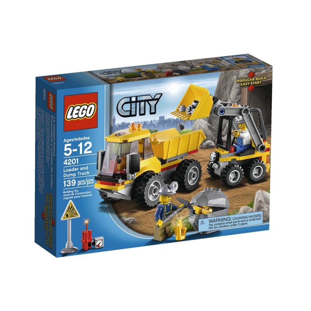 LEGO City Incarcator si basculanta