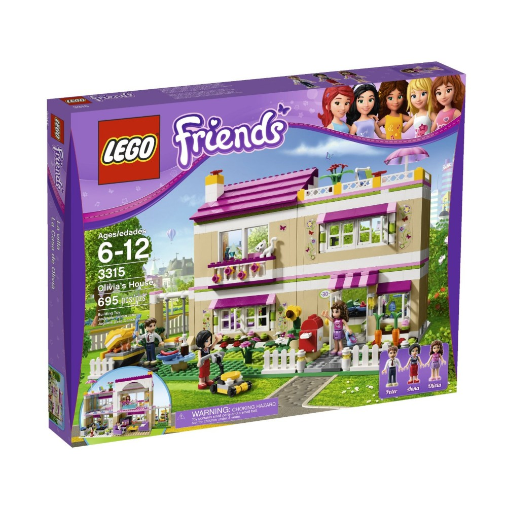 LEGO Friends Casa Oliviei