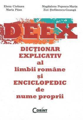 DEX DICTIONAR EXPLICATIV AL LIMBII ROMANE