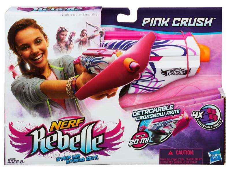 Blaster Pink Crush Rebelle