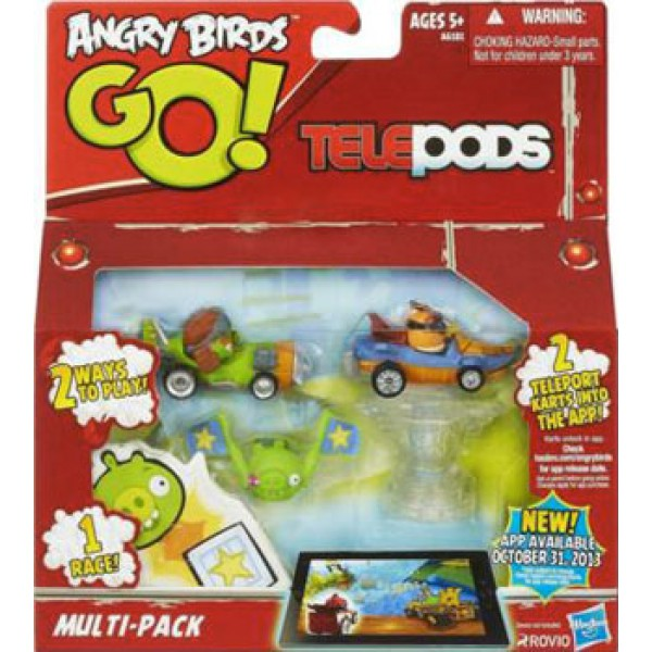 Pachet figurine Angry Birds Go