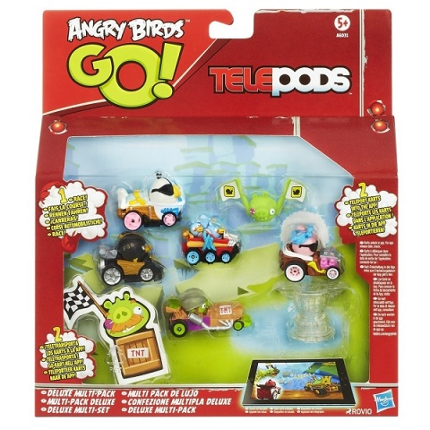 Pachete figurine Deluxe Angry Birds Go