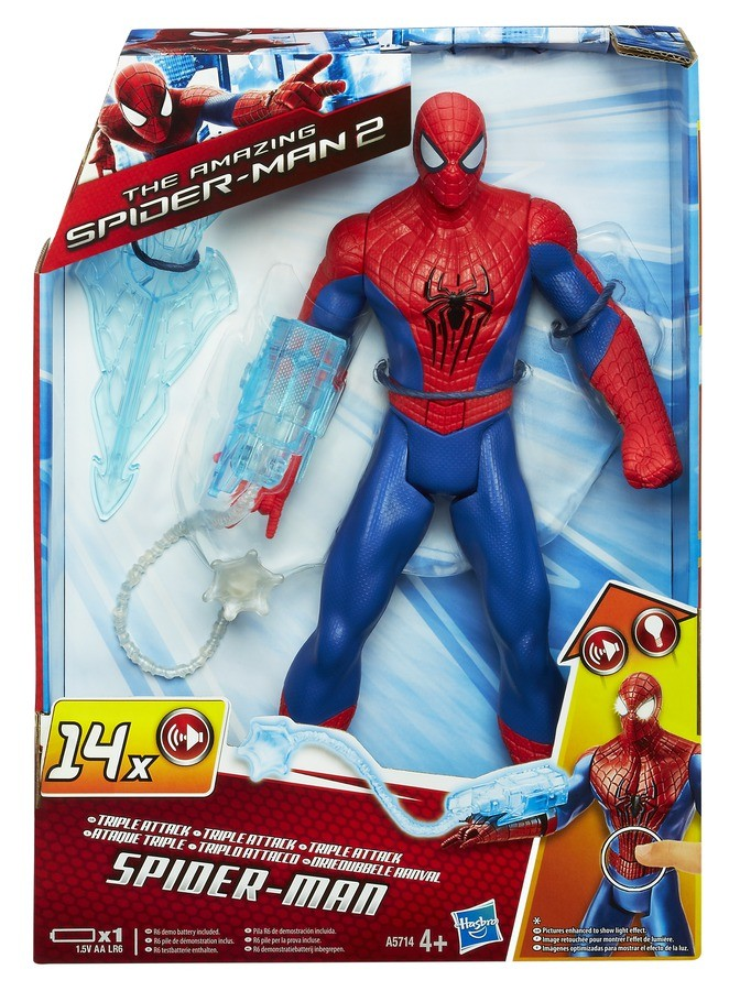 Figurina Spider-Man Triple Attack