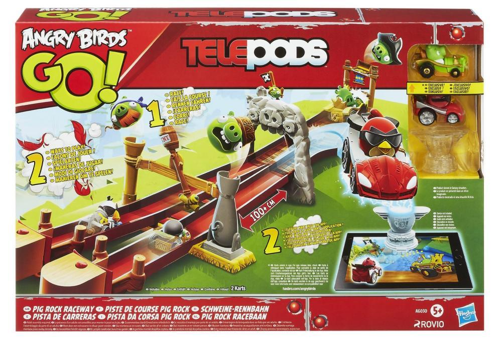 Set de curse Angry Birds Pig Rock