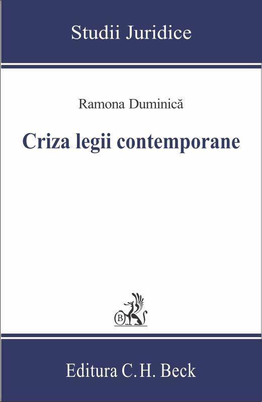 CRIZA LEGII CONTEMPORANE