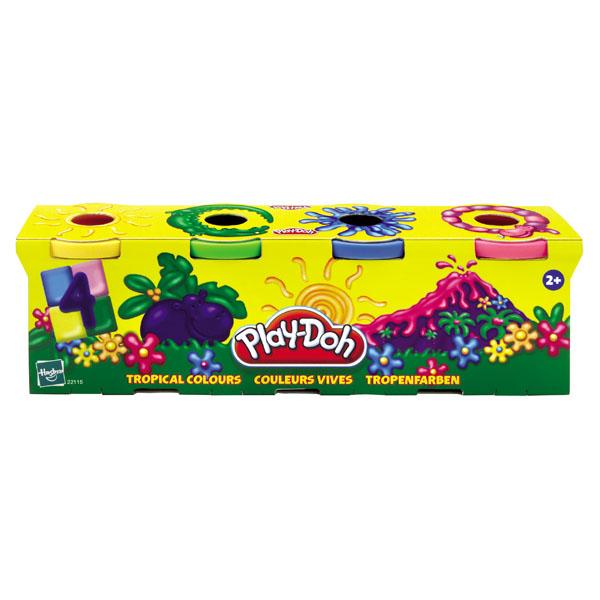 Play Doh pachet 4 cutii div.culori